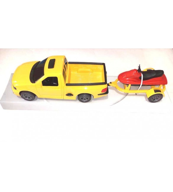 Carro Pick-up Ford F-150 LIghtning - Watercraft - Roma Brinquedos
